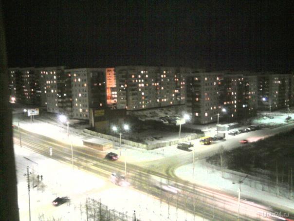 вид из нашего окна... Улицы города Ухта