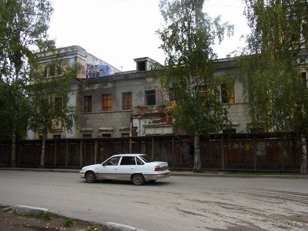 Бани, август 2010 Улицы города Ухта