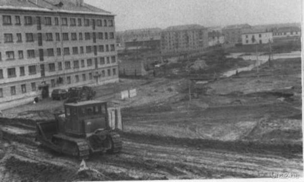 ул. Дзержинского1960г.  Ухта